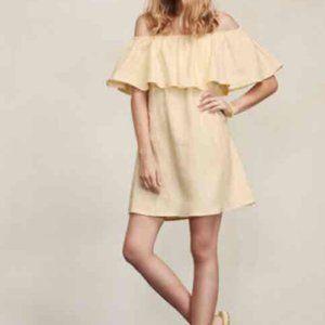 Reformation - Nashville Off-the-shoulder Dress